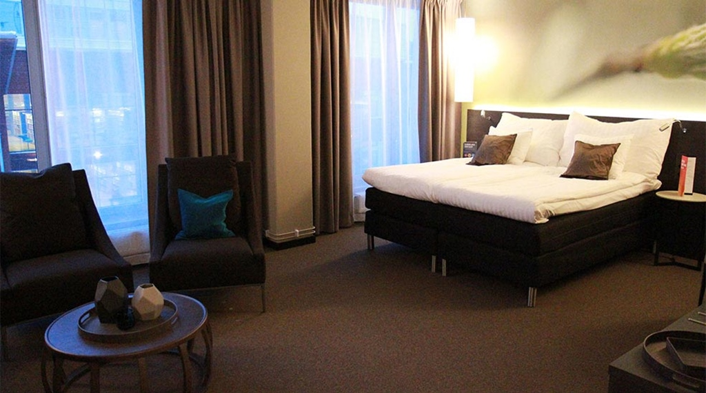 Clarion hotel sense hotellrom i lule for Design hotel ladys first