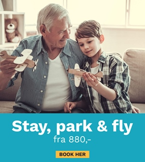 STAY, PARK & FLY!